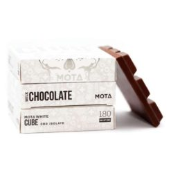 MOTA - Milk Chocolate Cube WHITE
