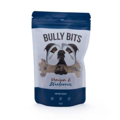 Bully Bits - Venison Blueberries