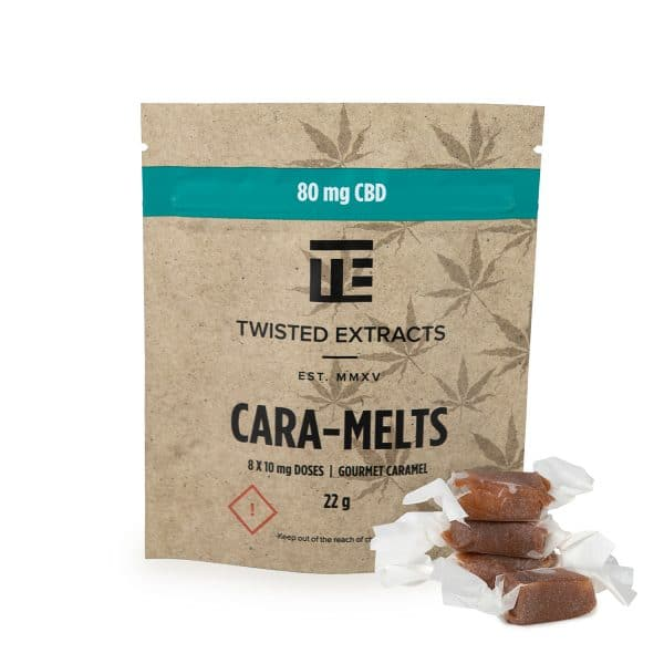 Twisted Extracts - Cara-Melts - CBD