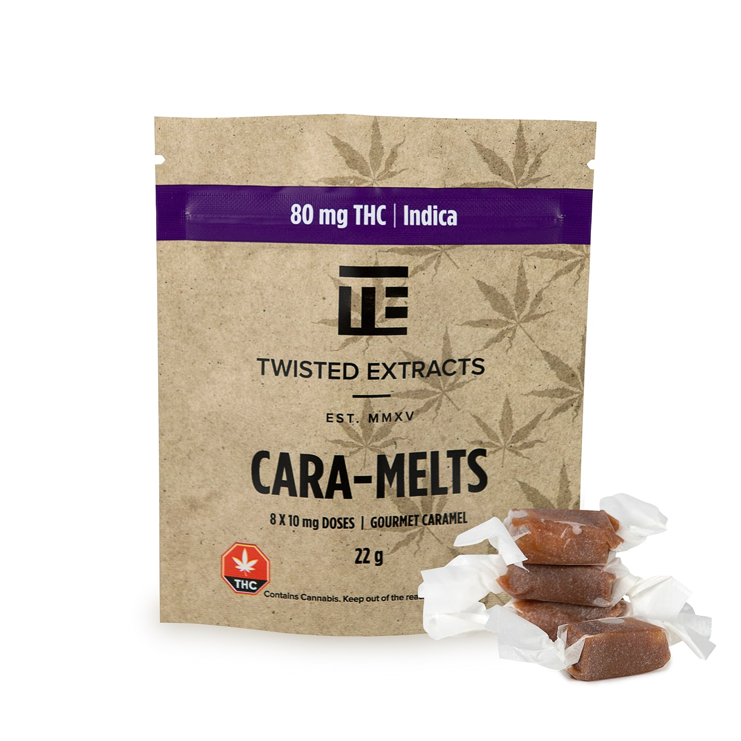 Twisted Extracts - Cara-Melts - THC Indica