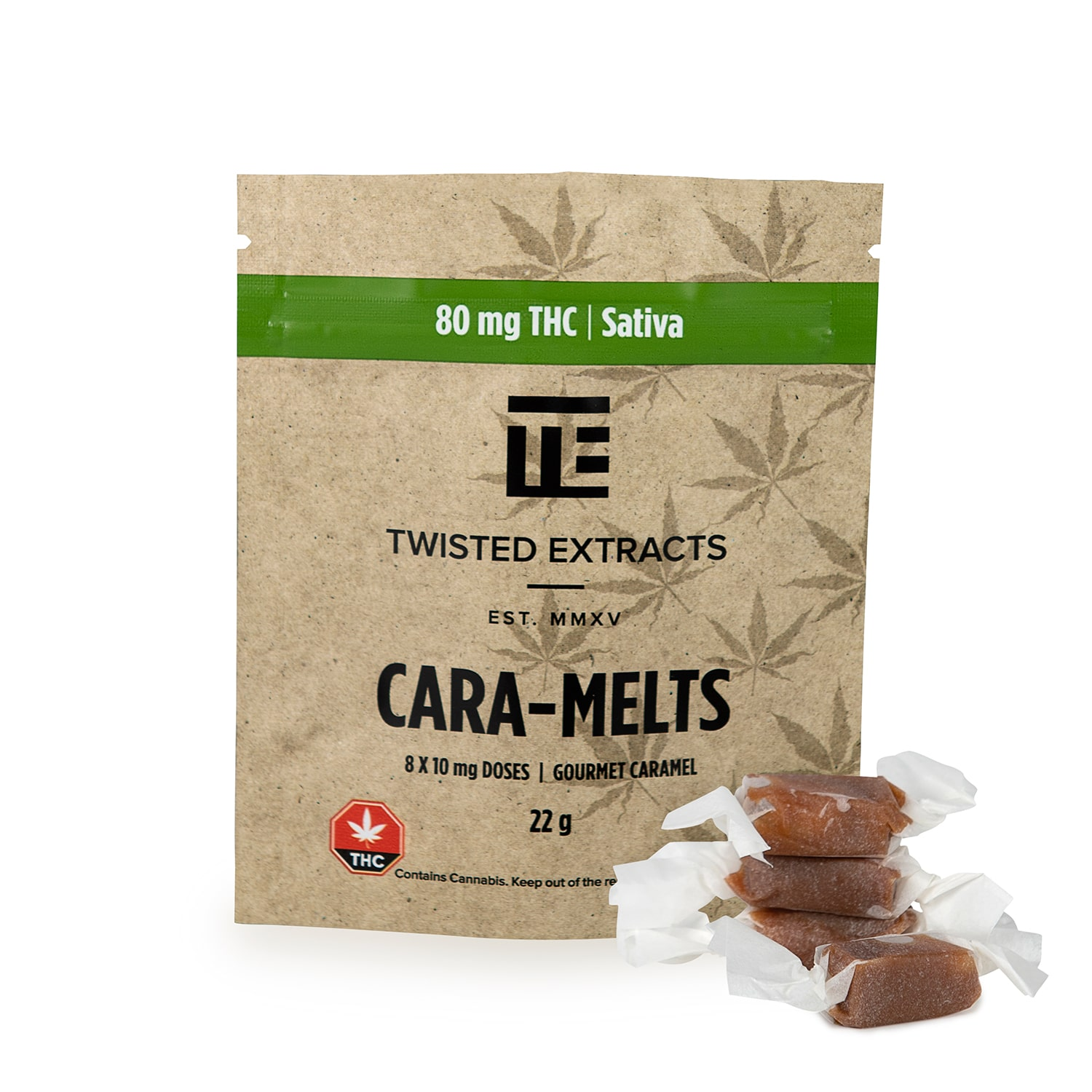 Twisted Extracts - Cara-Melts - THC Sativa