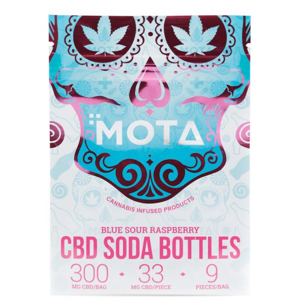 MOTA - CBD Blue Raspberry Bottles