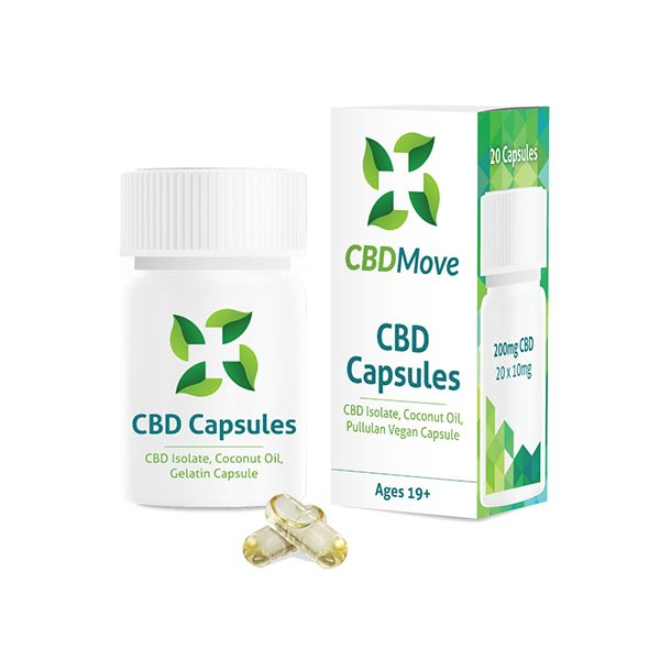 CBD Move - Capsules - 10MG