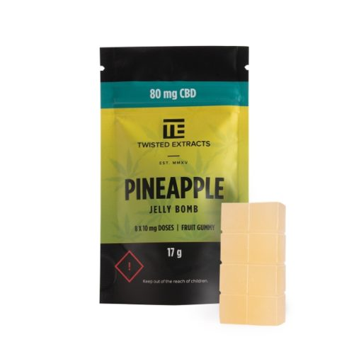 Twisted Extracts - CBD - Pineapple