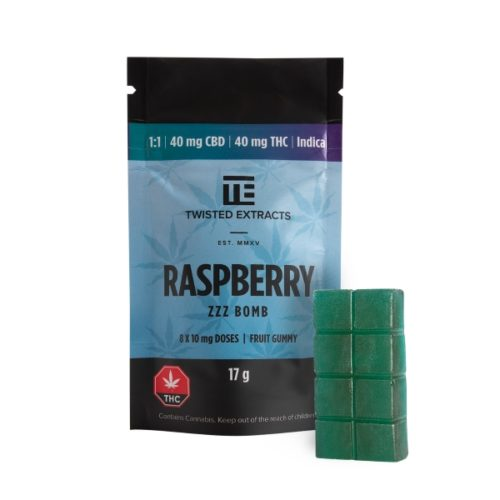 Twisted Extracts - Raspberry - 1-1 Indica