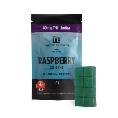 Twisted Extracts - Raspberry - THC Indica