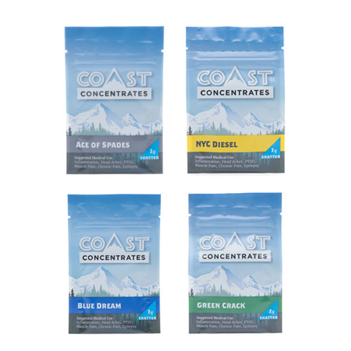 Coast Concentrates - Shatter Pack