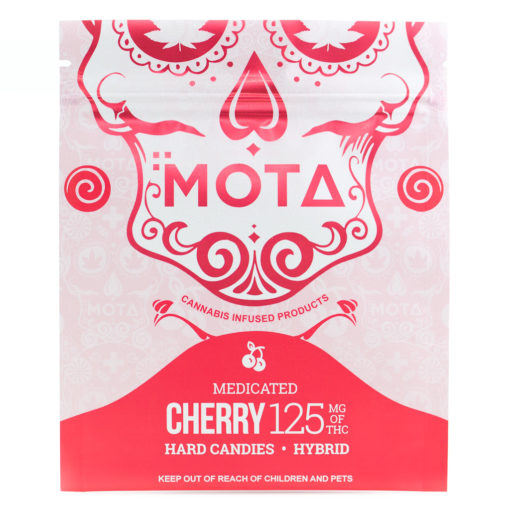 Mota cherry hard candy