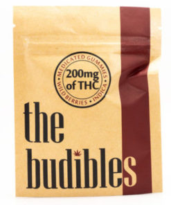 budibles medicated thc wild berries candy